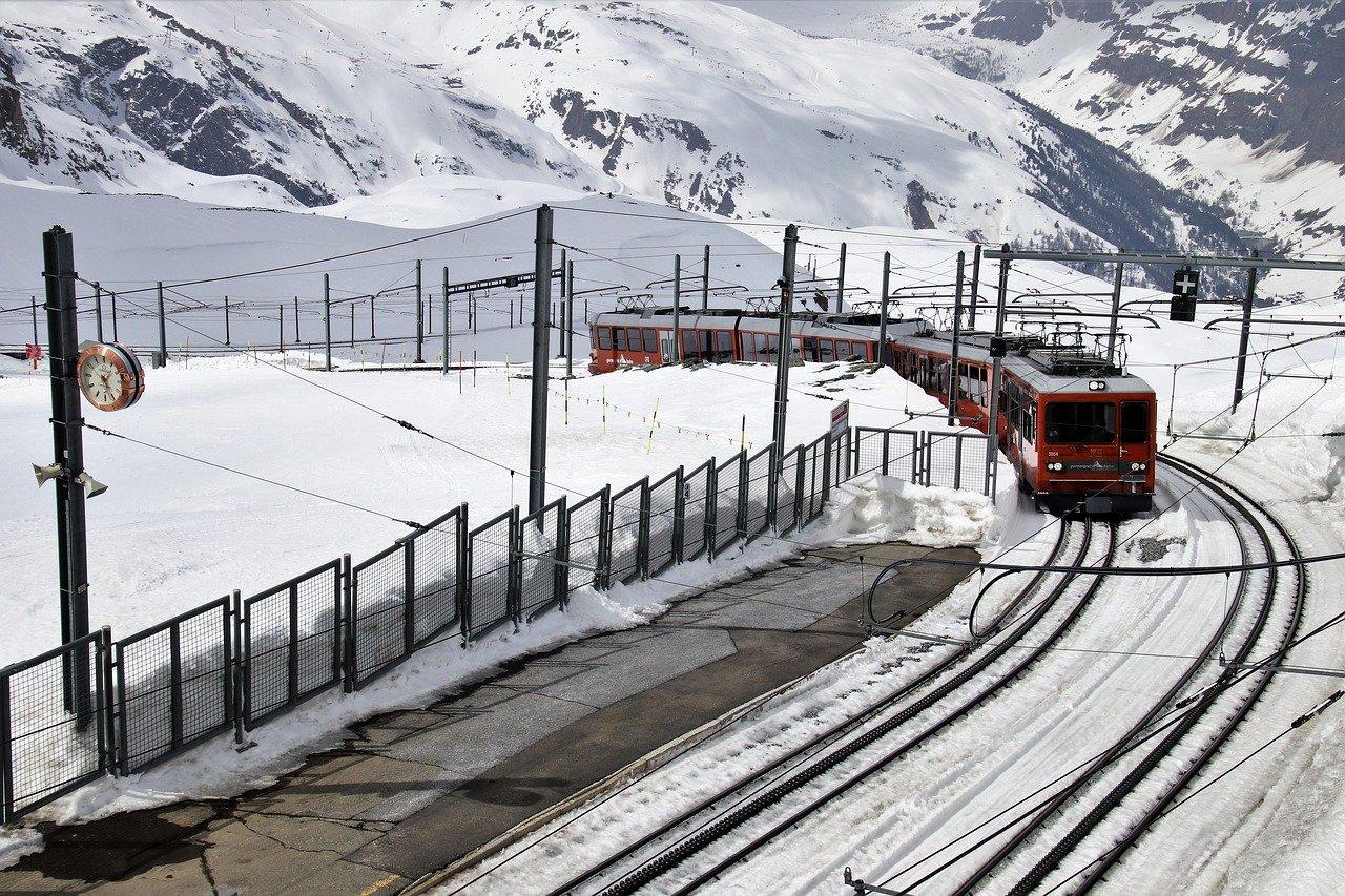 train in Zermatt