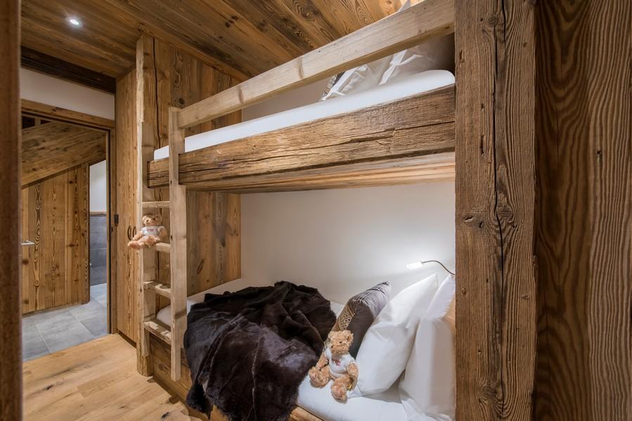 children bunk bedsat chalet Inoko Val D'isere