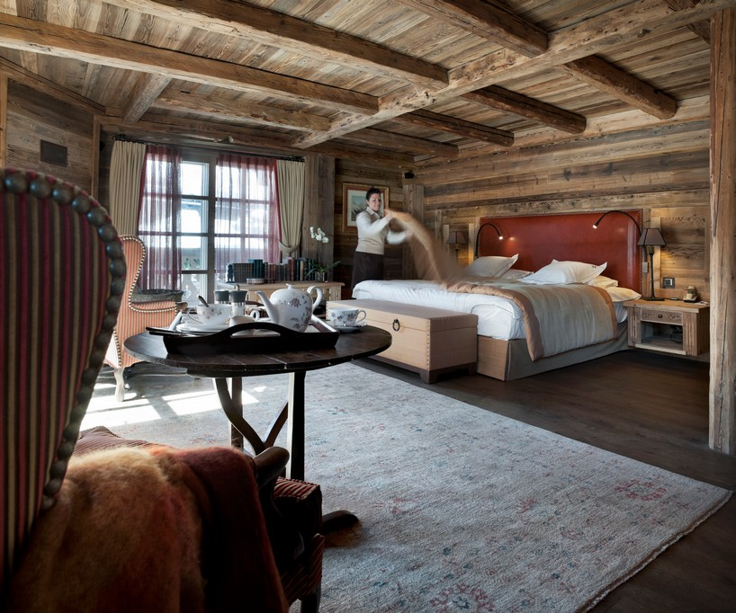Bedrooms ready for guest Chalet Ormello in Courchevel 1850