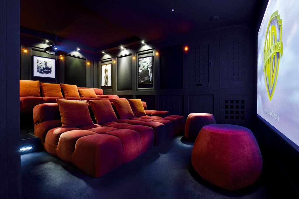 Cinema Room Chalet Ormello in Courchevel 1850