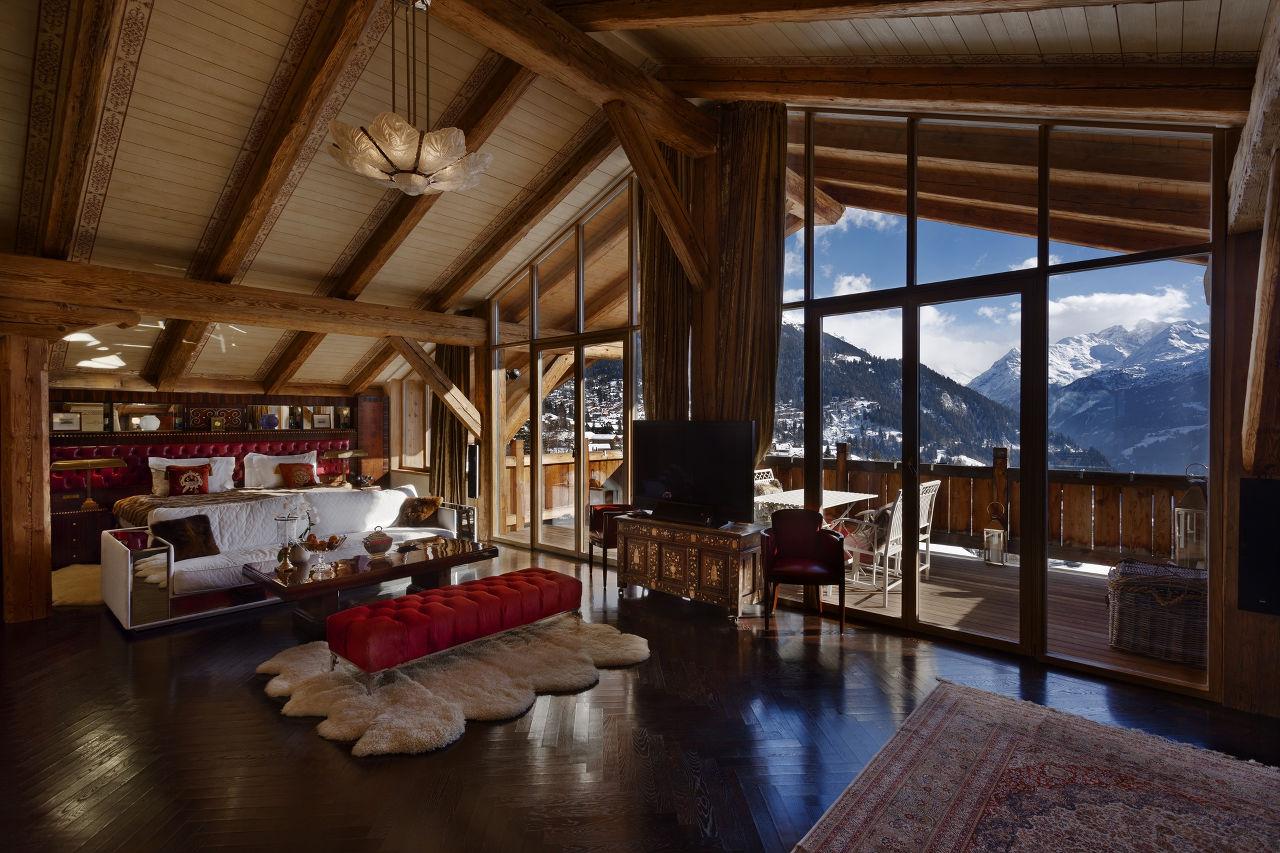 Bedrooms 1-2 master Truffe Blanche in in Verbier