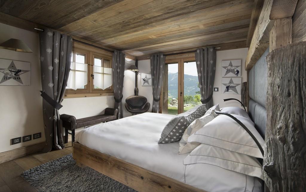 Bedroom 4 Makalu chalet in Courchevel 1550