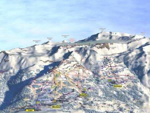 Crans Montana Piste Map 2020