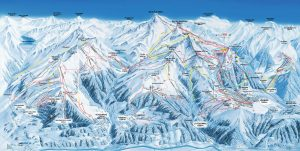Verbier, 4-Vallees Piste Map 2020
