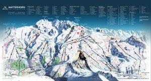 Zermatt Matterhorn Piste Map