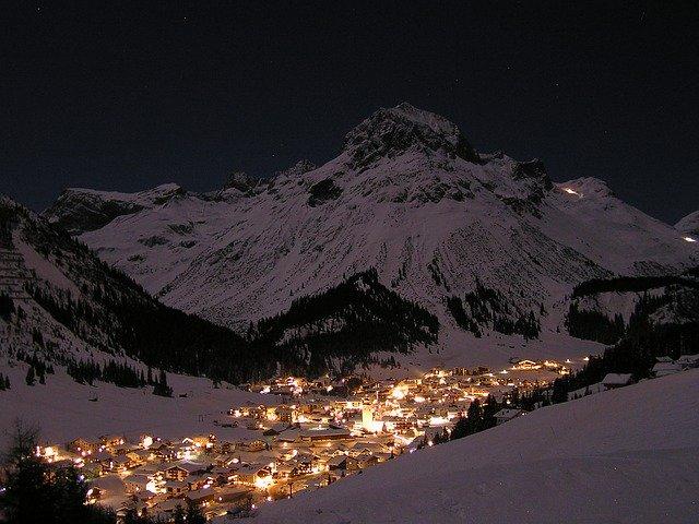 Luxury Ski resort Lech & Zurs
