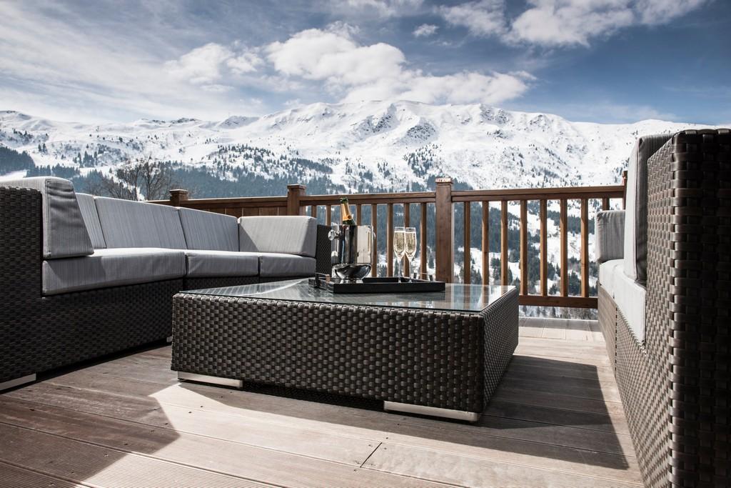 Terrace views Le Grenier