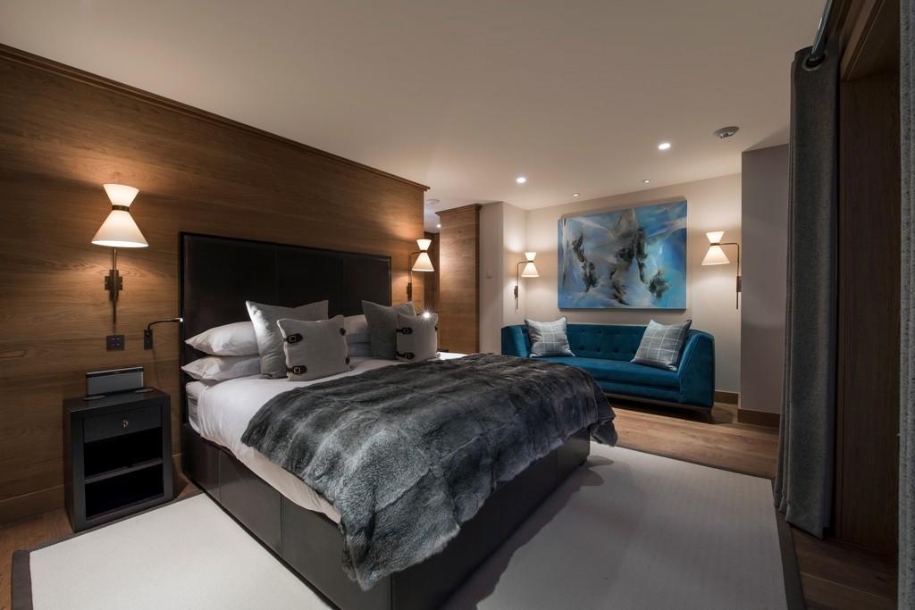 Master bedroom Chalet Le Grenier