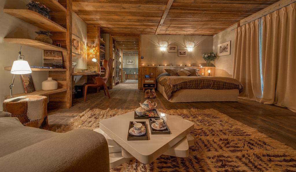 Bedroom one Chalet Husky Val d'Isère