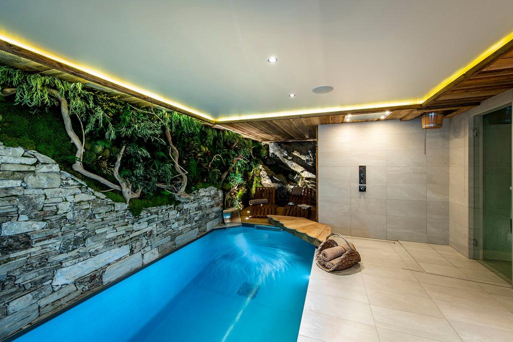 Swimming pool Spa area