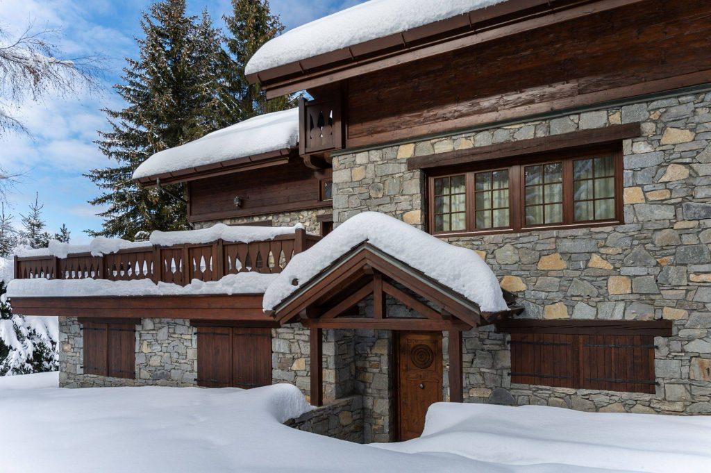 Outdoors with snow chalet adalta Meribel