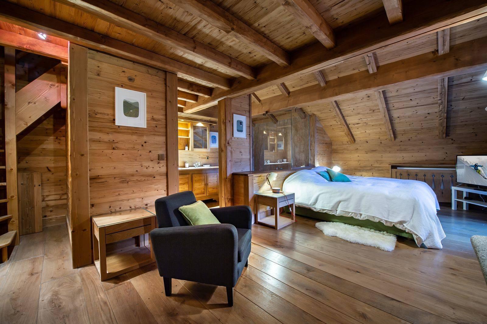 Double room chalet adalta Meribel