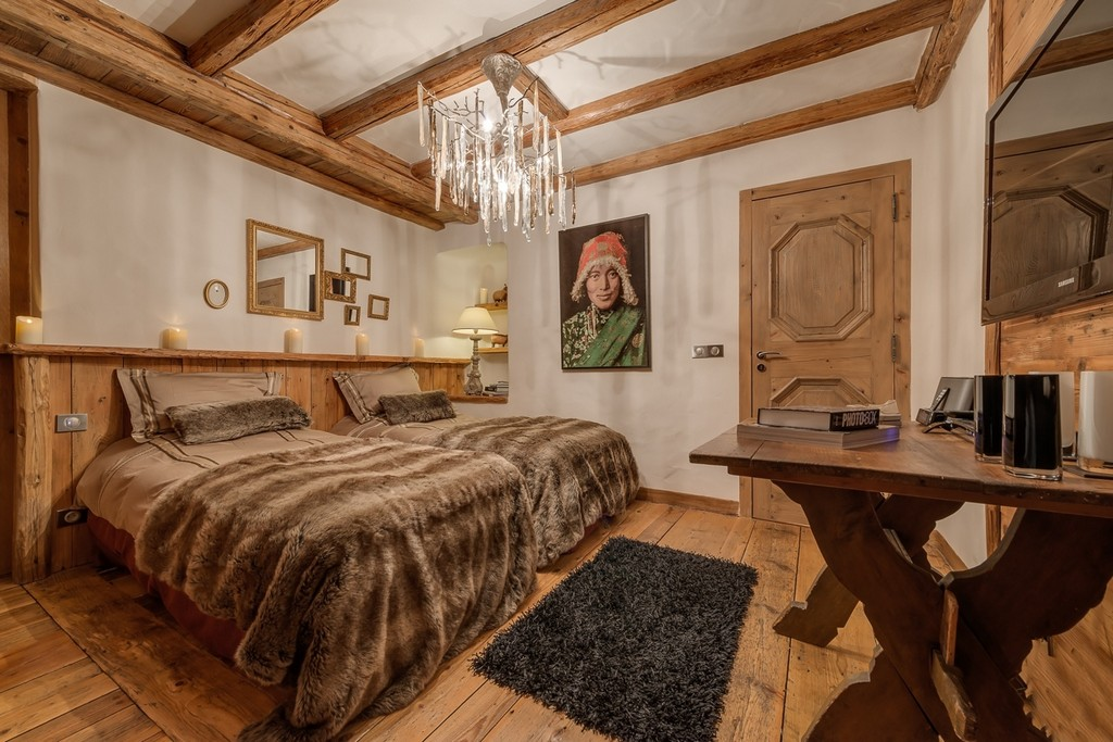 Chalet Le Rocher bedroom3