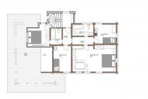 2nd floor main level plan