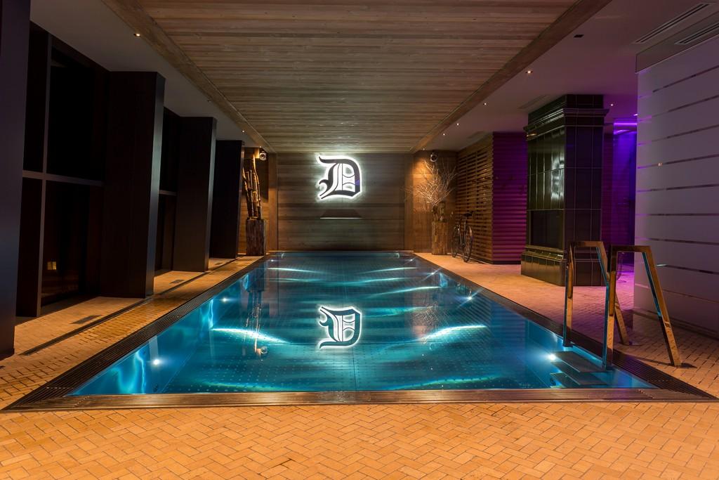pool Chalet La Datcha