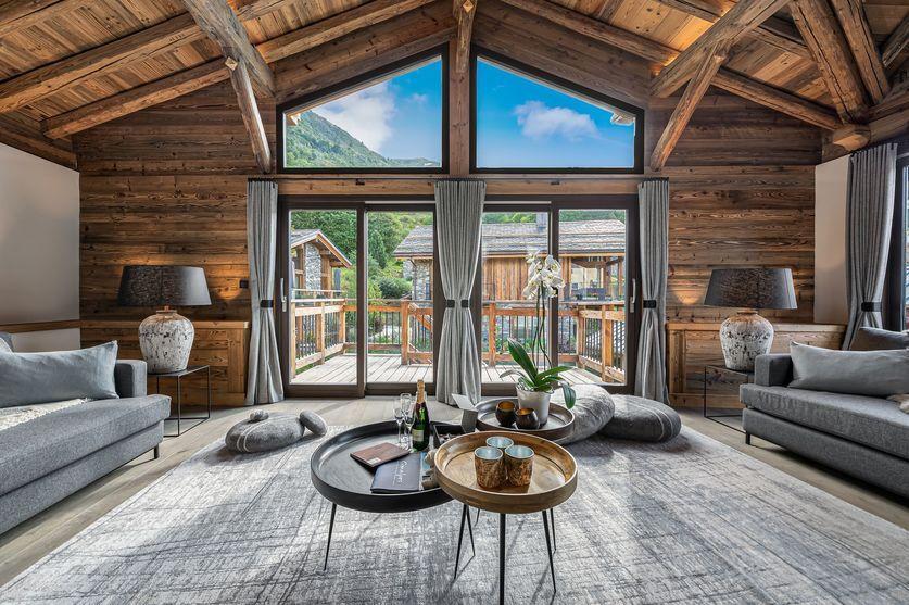 Chalet La Grange 1855 interiors