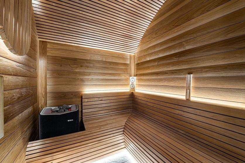 Sauna Chalet La Grange 1855