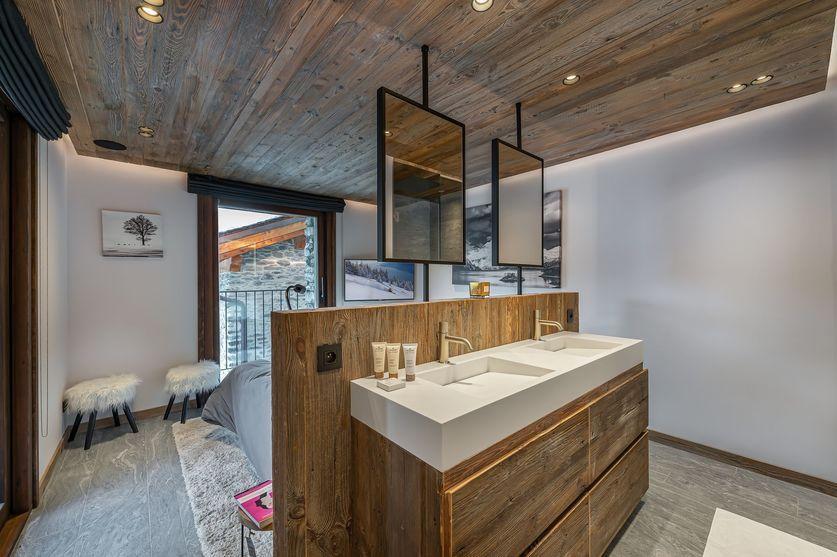 Bedroom4 chalet la Grange de Martinel