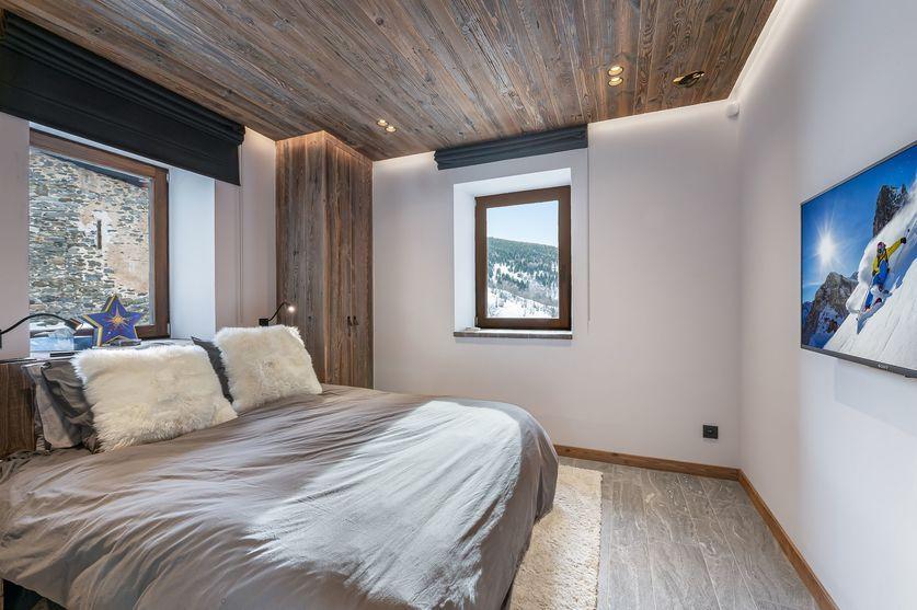 Bedroom2 chalet la Grange de Martinel