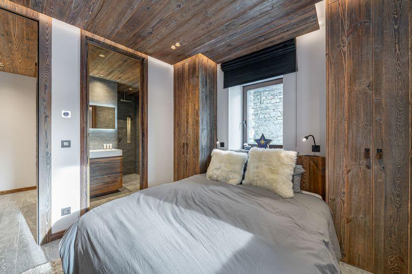 Bedroom3 chalet la Grange de Martinel