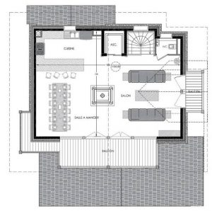 Floor PLan Level 3 Chalet Pure White Crystal