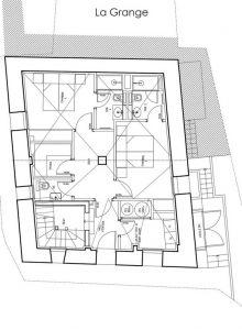 Ground Floor Chalet La Grange 1855