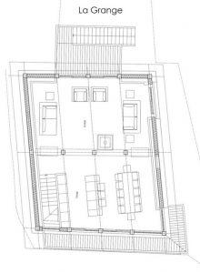 Level-2 Floor 2 Chalet La Grange 1855
