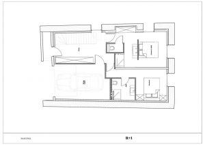 First floor chalet la Grange de Martinel