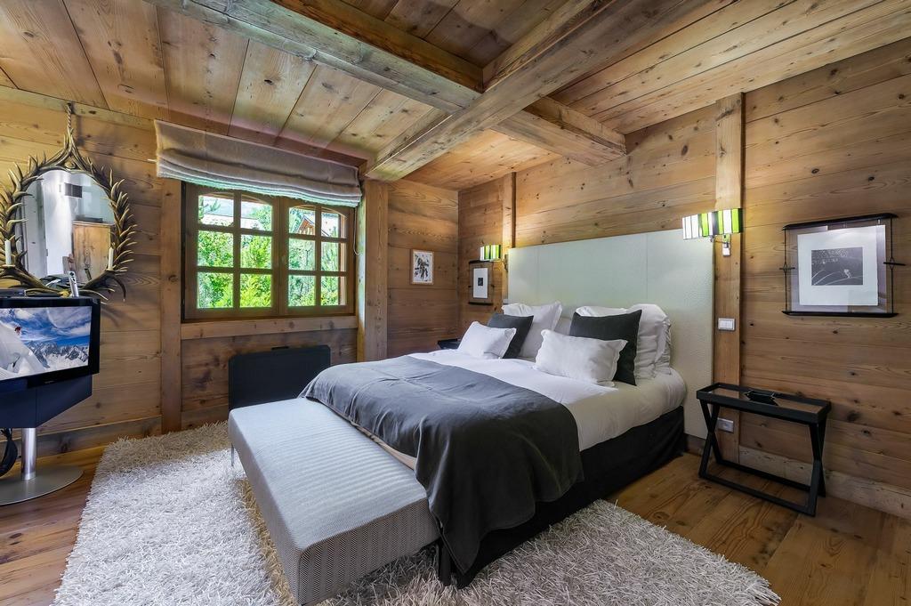 3rd bedroom Chalet La Ferme de Fedy