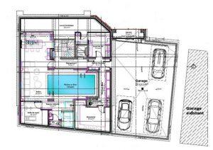 Lower ground floor plan Chalet Divinity