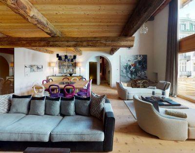 Luxury chalet 2    Chesa Laret, St Moritz   6 bedrooms